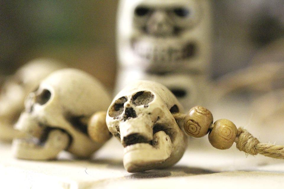 Skull, Skeleton, Altar, Ritual, Bones, Dead, Death