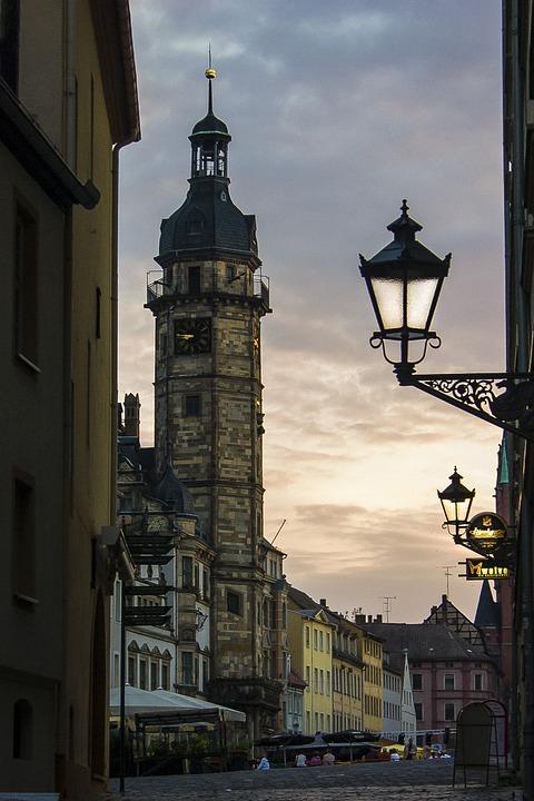 Thuringia Germany, Altenburg, Town Hall