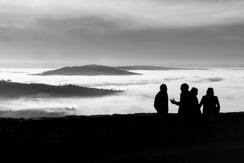 Conversation, High, Altitude, Grianan Of Aileach