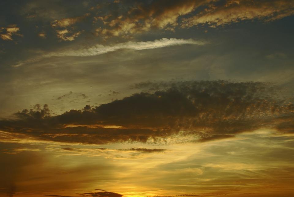 Sky, Clouds, Altocumulus, Summer, August, Poland
