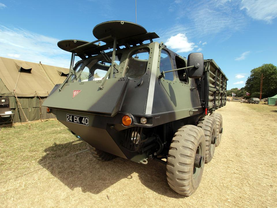 Alvis, Stalwart, Truck, Military, Vehicle, Show, Armed