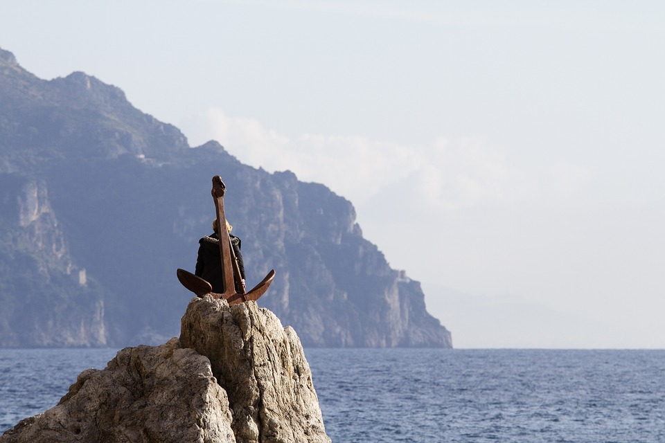 Atrani, Amalfi Coast, Campania, Yet, Sea, Cliff