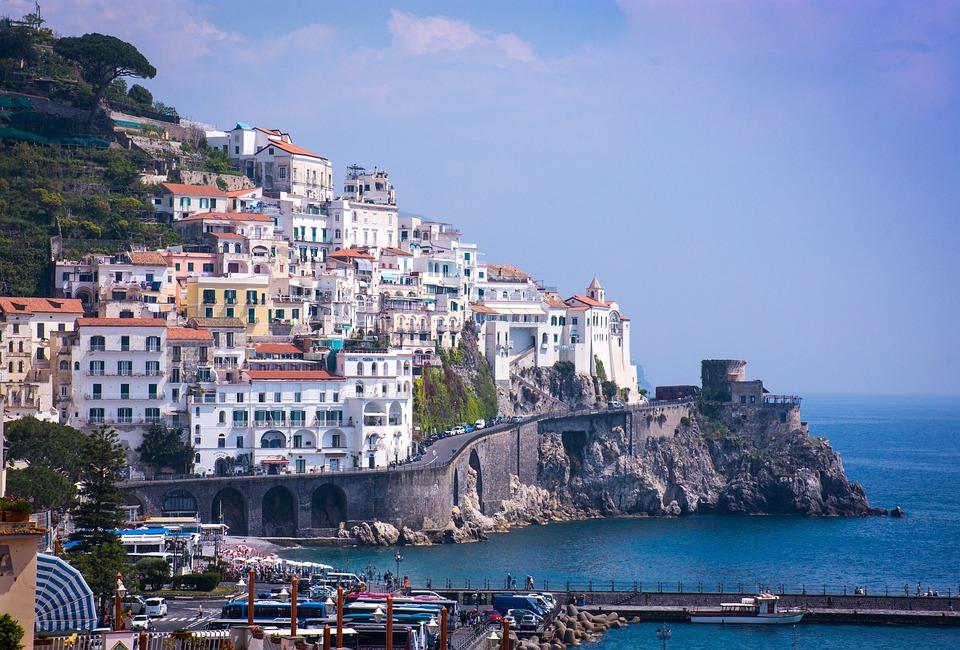 Amalfi, Amalfi Coast, Coast, Cliff, Campania, Italy
