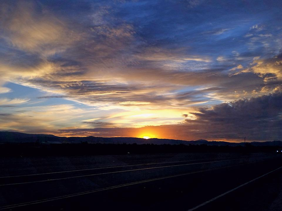 Antelope Valley Sunsets, Amazing Sunsets