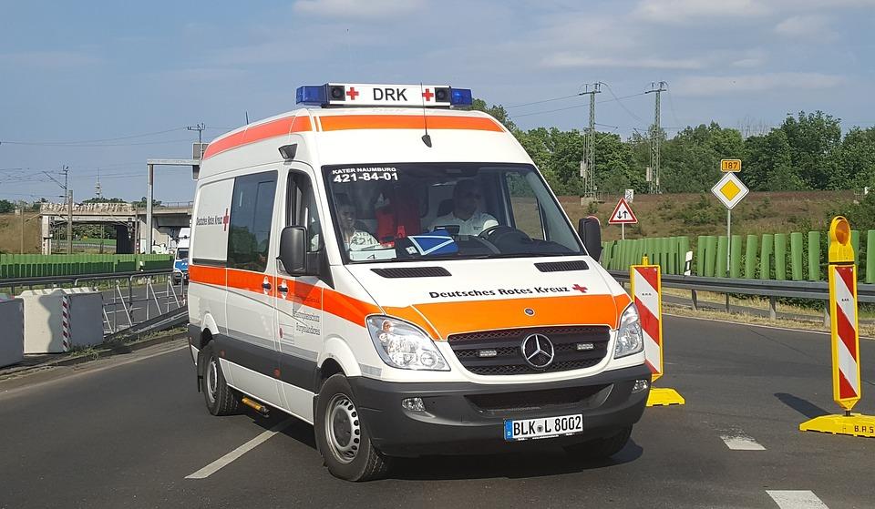 Ambulance, Vehicle, Auto, Transport System, Road, Truck