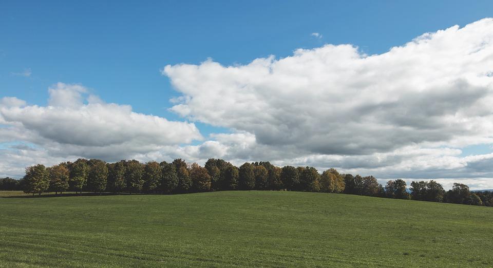 Vermont, New England, America, Panorama, Fall, Autumn