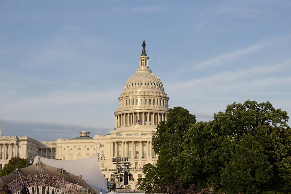 Capitol, Building, Washington, Dc, America, United