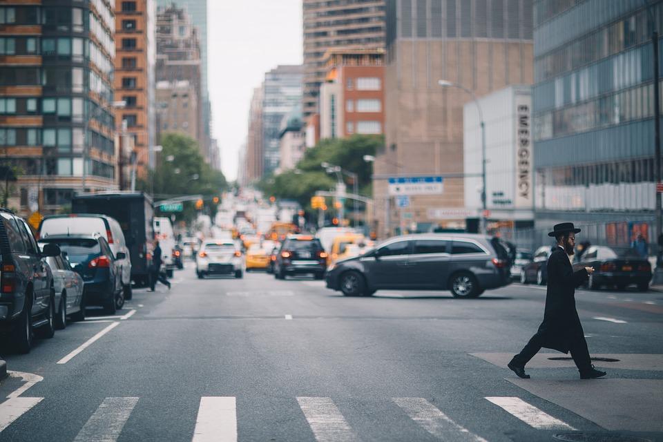 Road, Pedestrian, Nyc, Newyorkcity, Manhattan, America