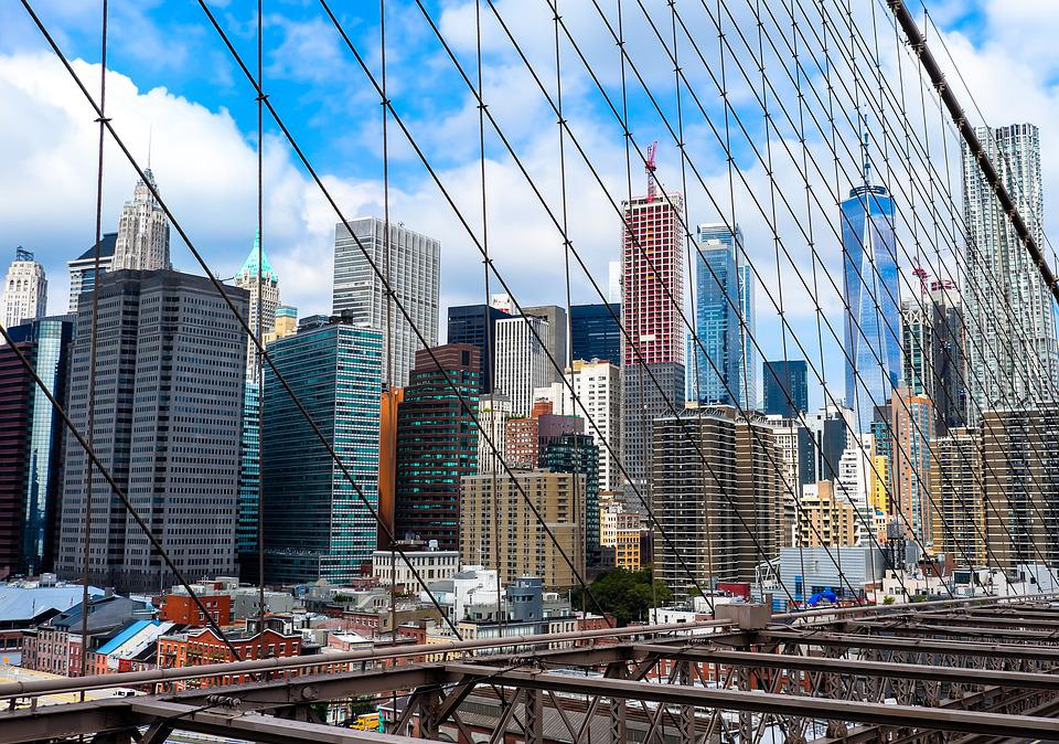 New York, Nyc, Ny, City, America, Building, Skyline