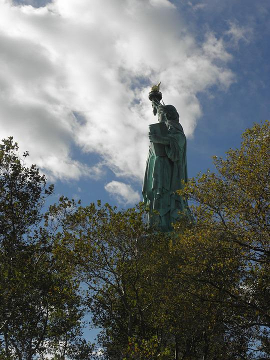 Statue Of Liberty, America, Symbol, Usa