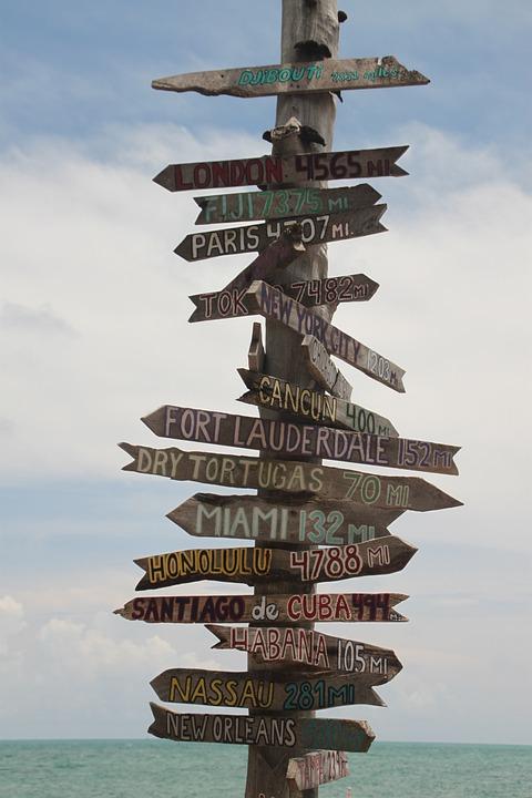 Key West, Sign, Travel, Key, West, Florida, America