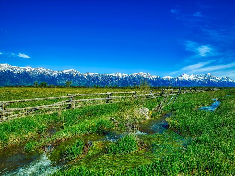 Grand Teton National Park, Wyoming, America, Landscape