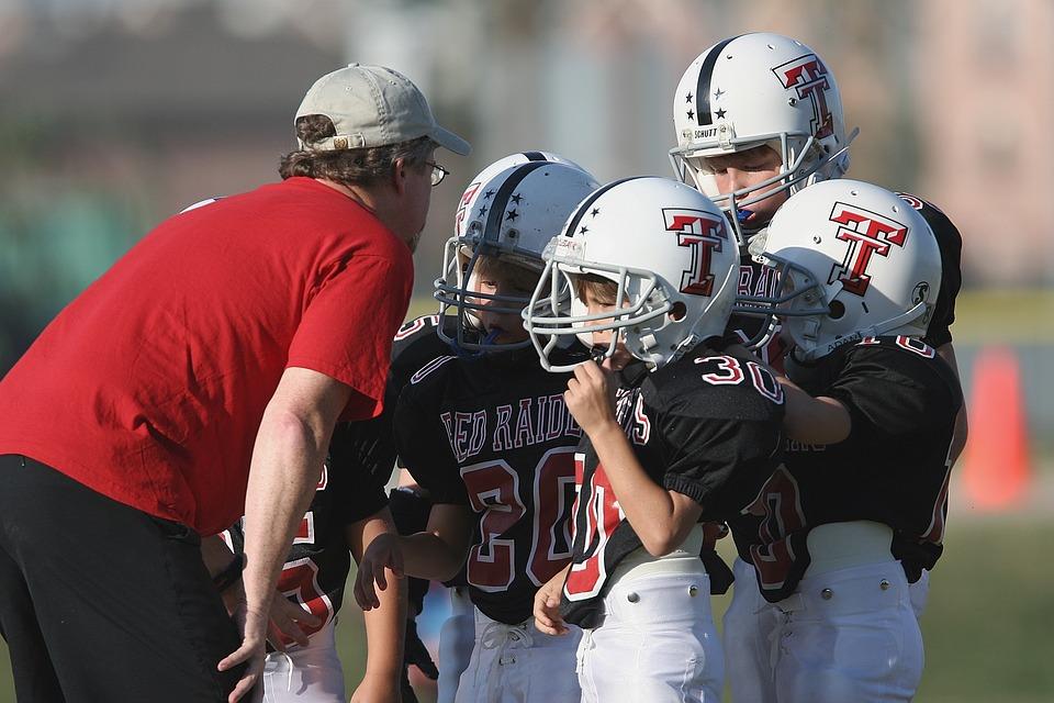 Football Coach, Coaching, American, Youth League, Boys