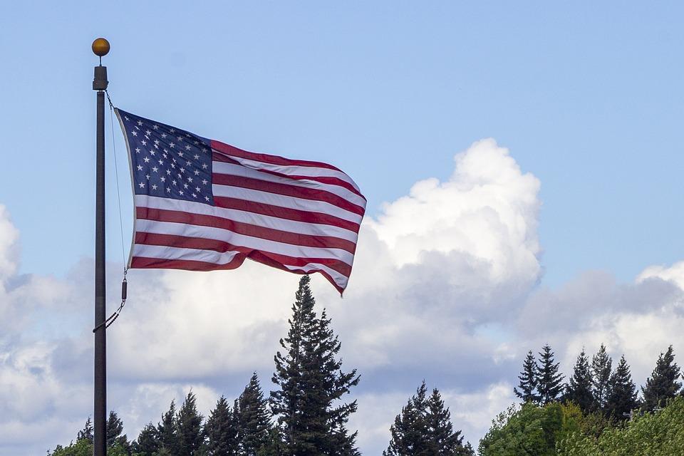 American Flag, Flag, Stars, Stripes, Red, White, Blue