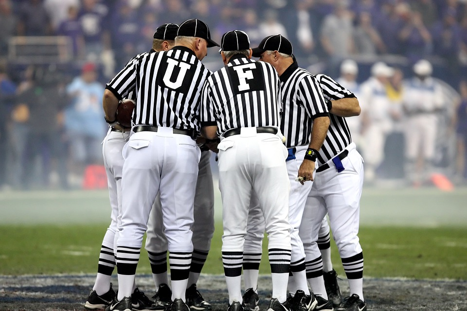 American Football, American Football Officials