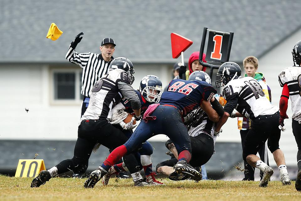 Football, American Football, Play, Competition, Defense