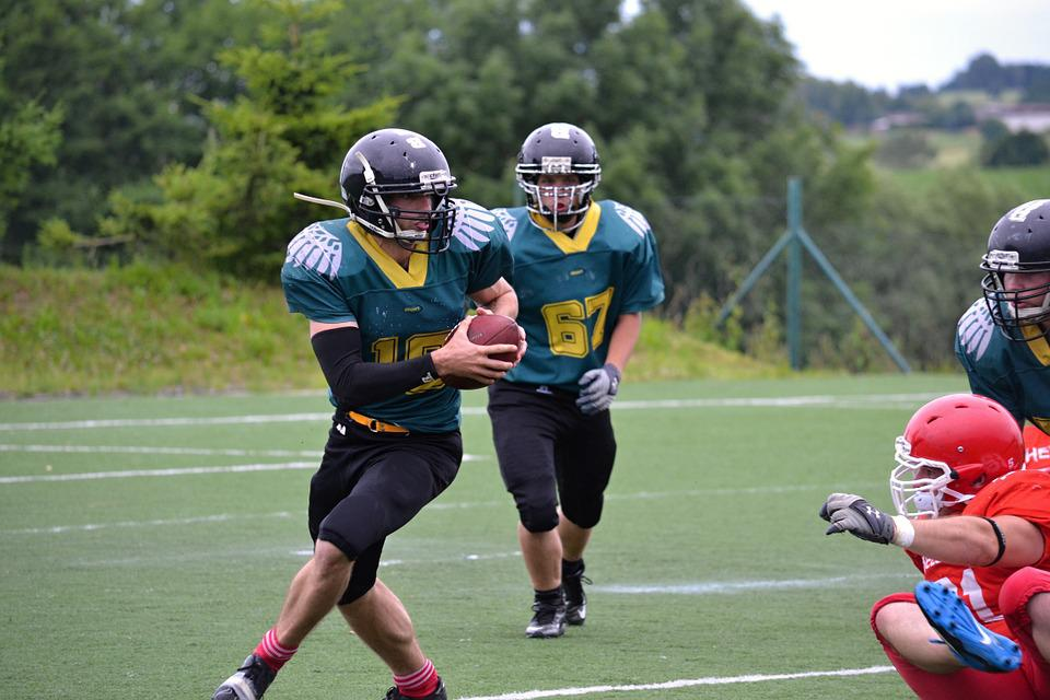 Football, American Football, Toil, Courage