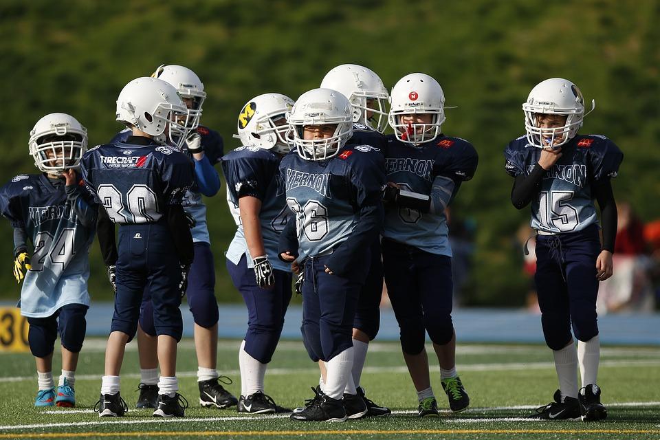 Football Team, Youth League, American Football, Game