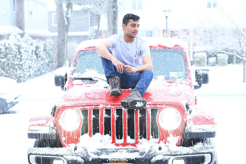 Jeep, Red, Passion, Teenager, Style, American Icon