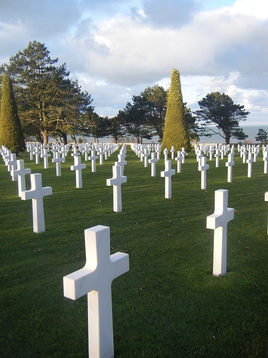 Cemetery, American, Memorial, Grave, Honor, Normandy