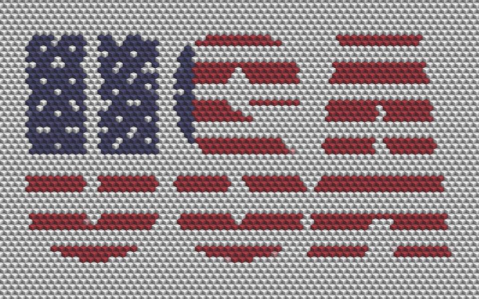 Usa, Us Flag, American, National, Patriotic