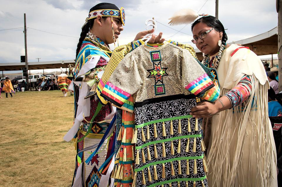Pow Wow, Arapahoe, Indian, American Native, Dress