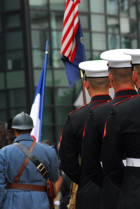 Military, American, American Cemetery, Normandy, War