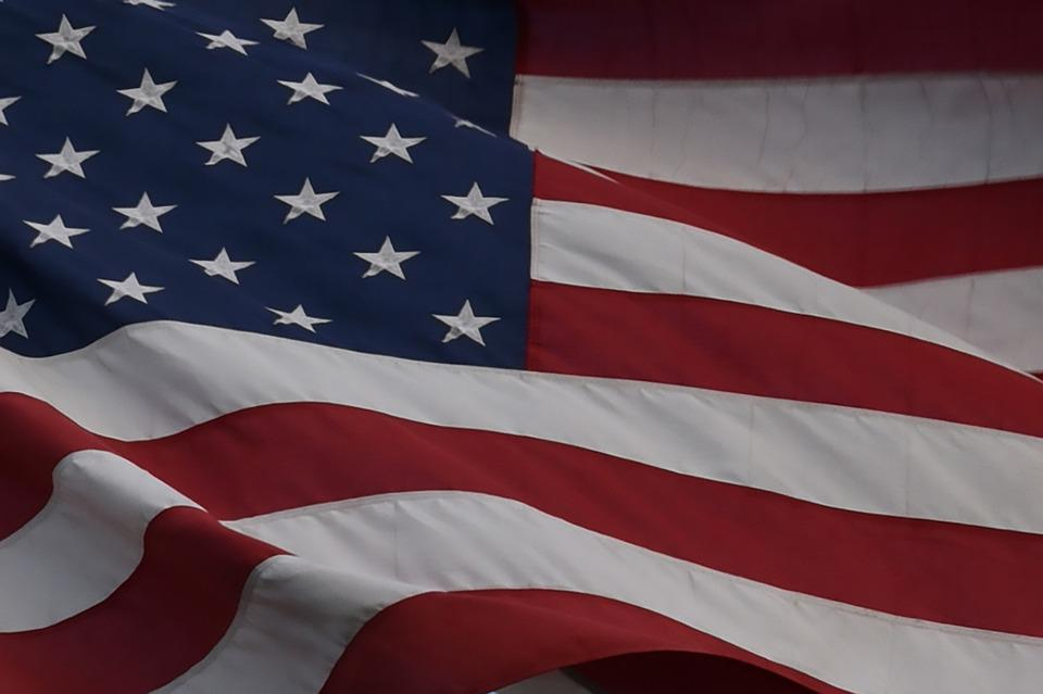 Flag, American, Old Glory, Stars And Stripes, Patriotic