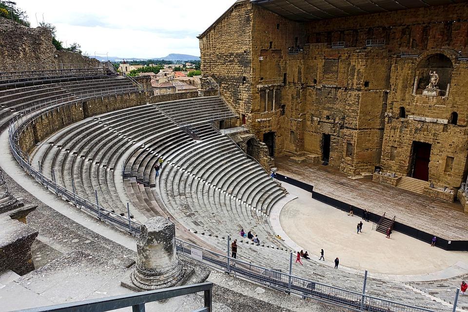 Roman, Amphitheater, Monument, Heritage, Archeology