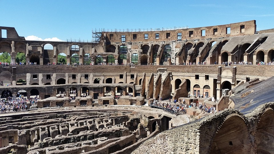 Rome, Colosseum, Italy, Amphitheater