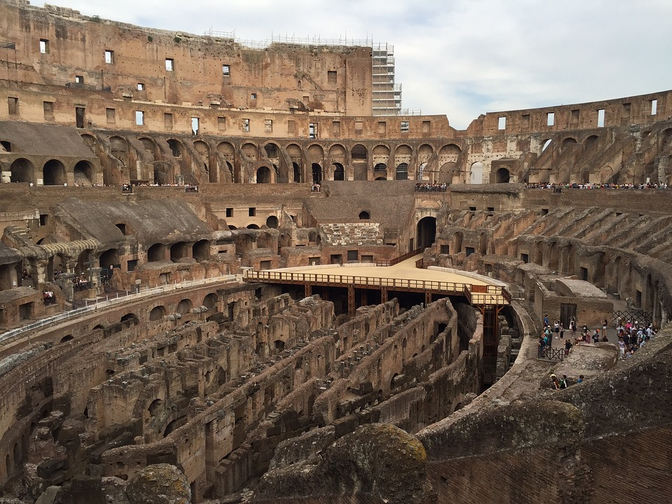 Colosseum, Rome, Amphitheater