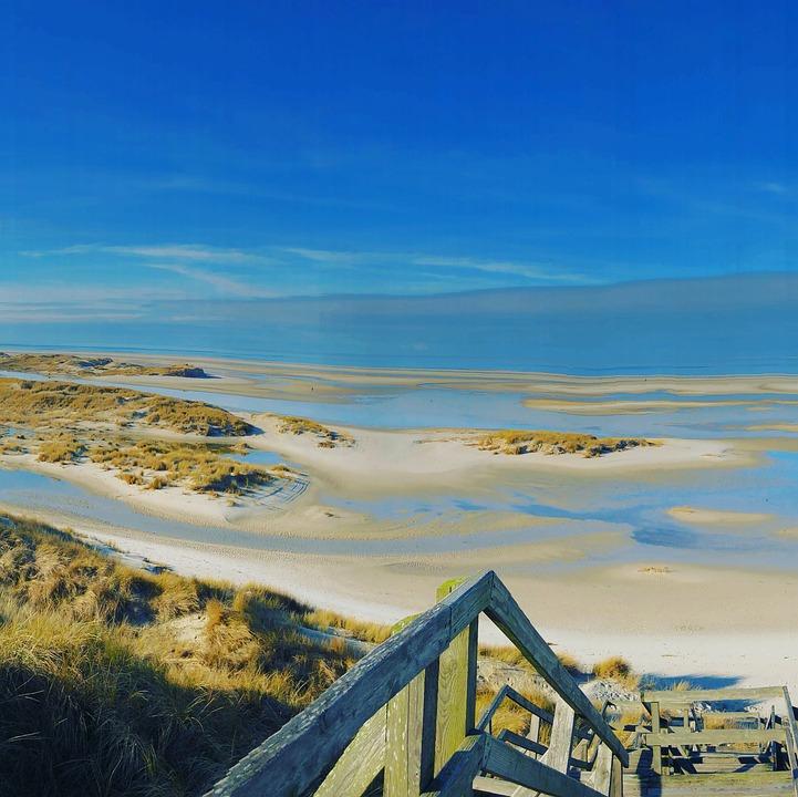Amrum, Beach, Vacations, Relaxation, Nordfriesland