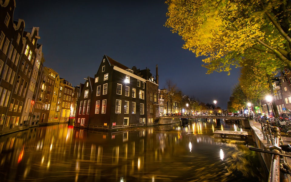 Canal, Long Exposure, Amsterdam, Water, Netherlands