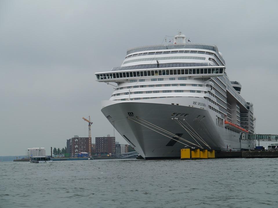 Free Photo Amsterdam Gigantic Large Ship Port Cruise Ship Max Pixel - Amsterdam cruise ship
