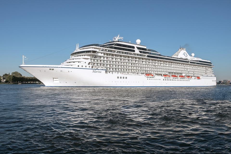 Port, River, Liner, Sea, Cruise, Amsterdam