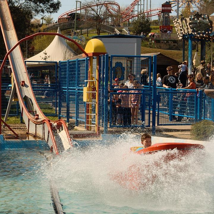Animation, Festival, Attractive, Amusement Park