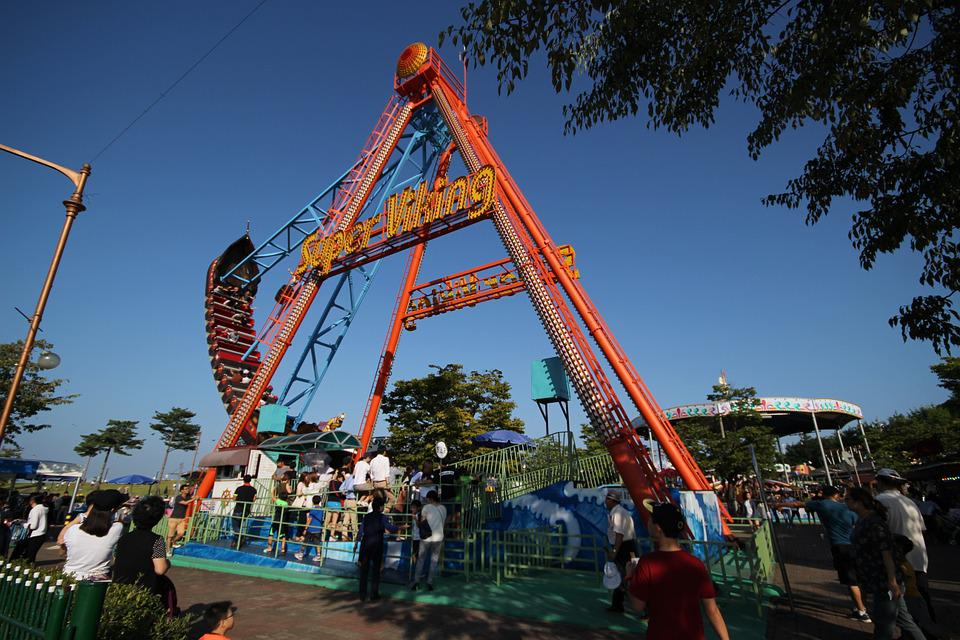 Amusement Park, Viking, Paju Imjingak