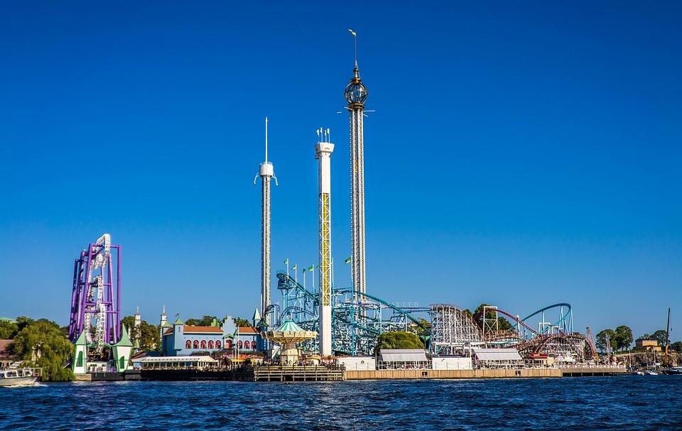 Amusement Park, Stockholm, Sweden, Europe, Swedish