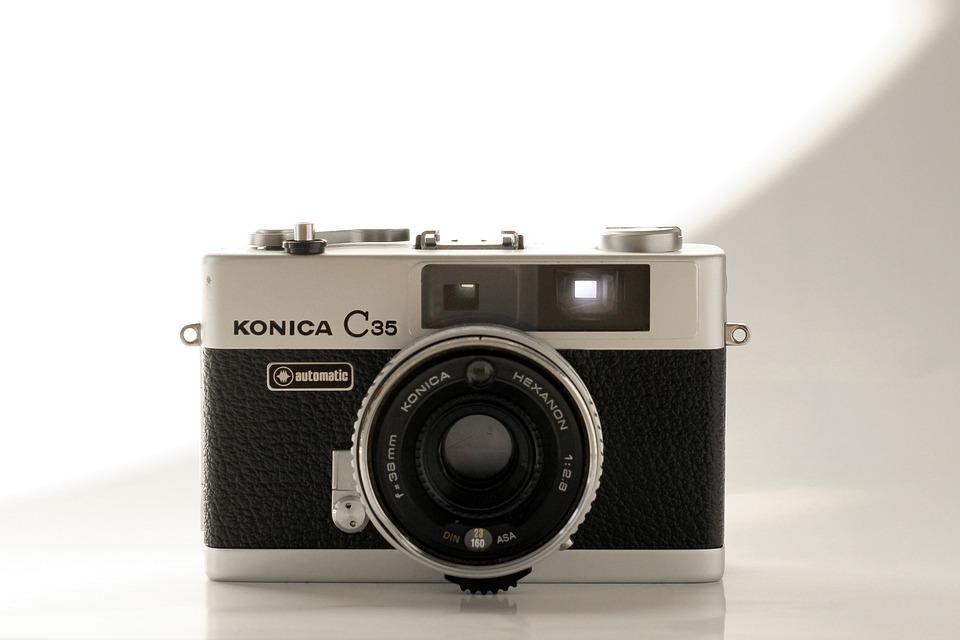 Analog, Camera, Old, Hipster, Vintage, Konica