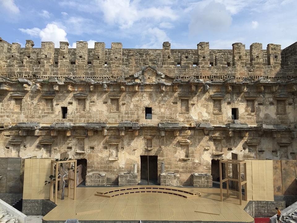 Pentos, Turkey, Asia Minor, Anatolia, Building, Klunky