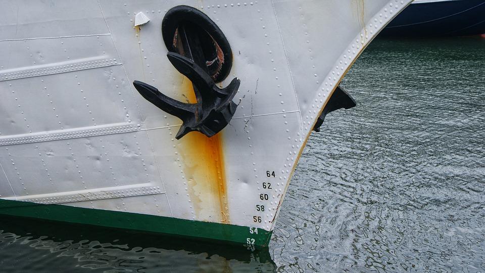 Ship, Sail, Anchor, Depth, Boating, Boat, Sailing Boat