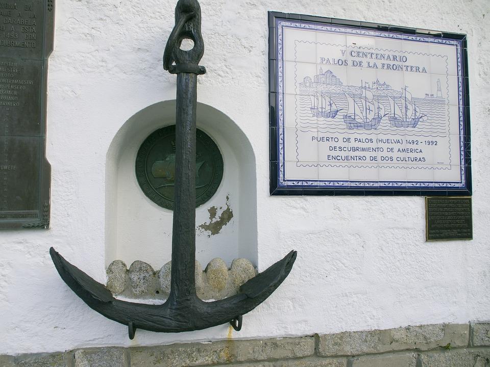 Anchor, Baiona, Wall