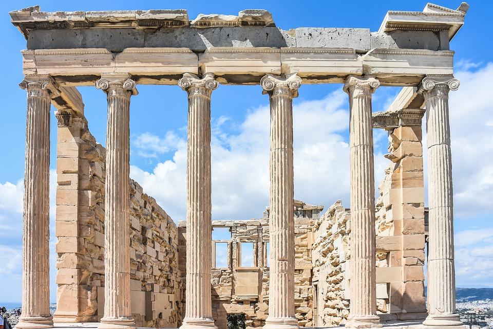 Free photo Ancient Acropolis Athens Greece Architecture Greek Max