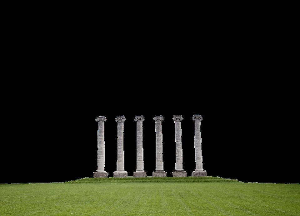 Columns, Pillars, Architecture, Ancient, Classical