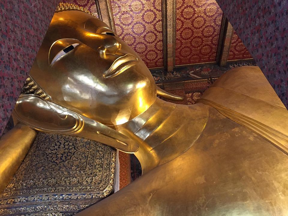 Buddha, Gold, Thailand, Statue, Religious, Ancient