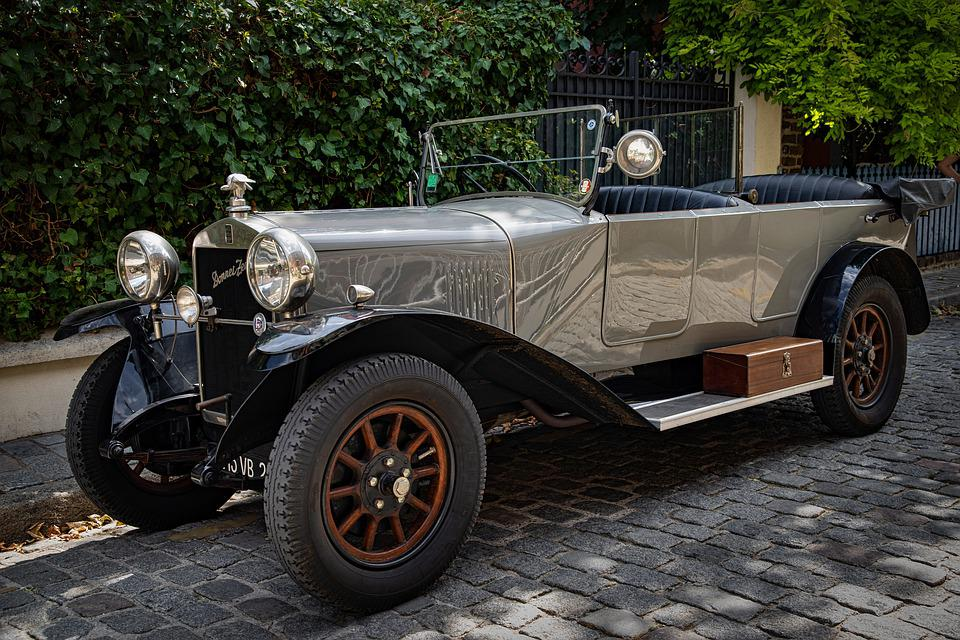 Car, Automobile, Auto, Donnet, Zedel, Old, Ancient