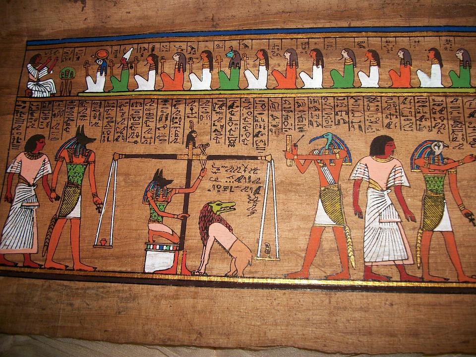 Egypt, Anubis, Judgement, God, Egyptian, Ancient