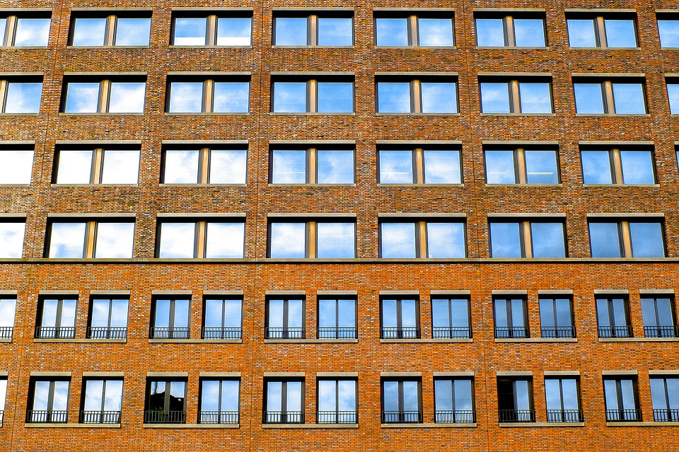 Building, Facade, Brick, Windows, Ancient, Architecture