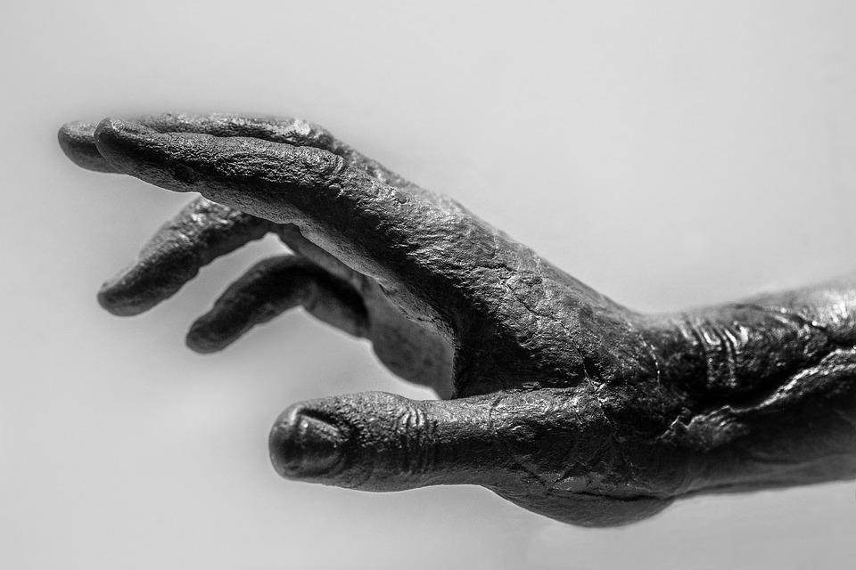 Hand, Brass, Sculpture, Ancient Greece, Detail, Museum