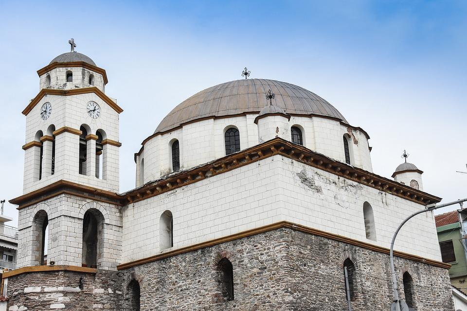 Church, Thassos, Greece, Eastern, Hellenic, Ancient